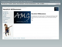 amg-fnz.de Webseite Vorschau