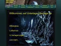 untertage-übertage.de Webseite Vorschau
