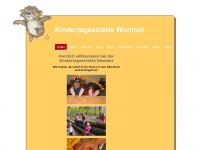 kitawombat.ch Webseite Vorschau