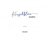 kirschblau.de Webseite Vorschau