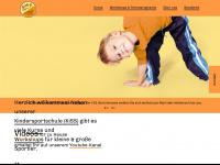 kindersportverein.de Webseite Vorschau