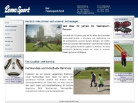lomasport.de Webseite Vorschau