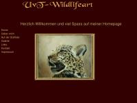 uvt-wildlifeart.de Webseite Vorschau