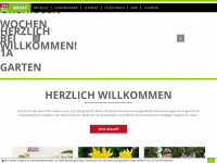 1a-garten-ammer.de Webseite Vorschau