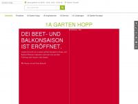 1a-garten-hopp.de Webseite Vorschau