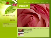 1a-garten-schmidt.de Webseite Vorschau