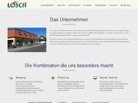 malermeister-loesch.de Webseite Vorschau