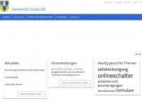 zuzwil-be.ch Webseite Vorschau