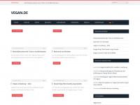 vegan.de Webseite Vorschau