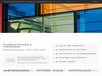 amina.ch Webseite Vorschau
