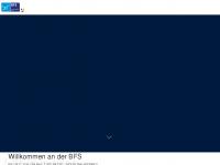 physiotherapieschule-cham.de Webseite Vorschau