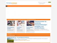 firmenpresse.de Webseite Vorschau
