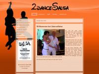 2dancesalsa.de Webseite Vorschau