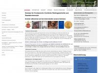 kirchenrecht.theologie.uni-mainz.de Webseite Vorschau