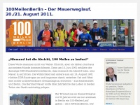 100meilen.de Webseite Vorschau