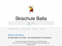 kinderskischule.com Webseite Vorschau