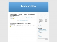 zumina.de Webseite Vorschau