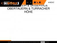 skiworld.at Webseite Vorschau
