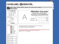 cachelabel-generator.de