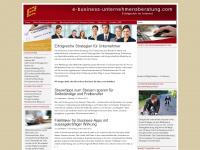e-business-unternehmensberatung.com Webseite Vorschau