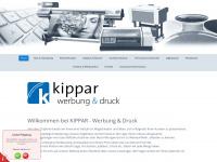 kippar-werbung.de Webseite Vorschau