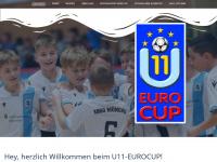 u11-eurocup.de Webseite Vorschau