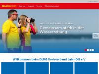 kv-lahn-dill.dlrg.de Webseite Vorschau