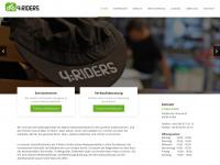 4-riders.de Webseite Vorschau