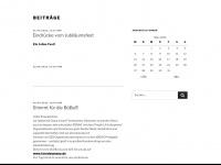kinderbueba.de Webseite Vorschau