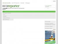 ecoreporter.de Webseite Vorschau