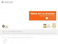 viaprinto.de Webseite Vorschau