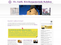 kirchengemeinde-rahden.de Webseite Vorschau