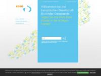 kinderosteopathen.eu Webseite Vorschau