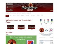 futsalicious-essen.de Webseite Vorschau