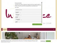 physiotherapie-inbalance.de Webseite Vorschau
