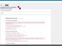 kirchenrecht-westfalen.de Webseite Vorschau