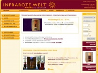 infrarote-welt.at Webseite Vorschau