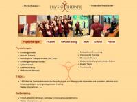 physiotherapie-hedendorf.de Webseite Vorschau
