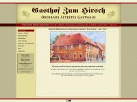 zumhirsch-oberrad.de Webseite Vorschau