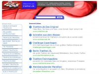 triathon.de Webseite Vorschau