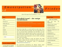 emanzipationundfrieden.de