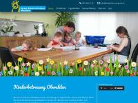 kinderbetreuung-ow.ch Webseite Vorschau