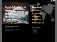 kissling-bau.ch Webseite Vorschau