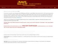 amfl.net Webseite Vorschau