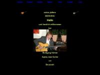 loup-guitarou.de Webseite Vorschau