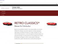 retro-classics.de Webseite Vorschau