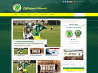 uvb-fussball.at Webseite Vorschau