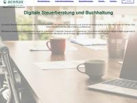 aconax.de Webseite Vorschau