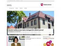amtsgericht-alfeld.niedersachsen.de Webseite Vorschau