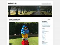 phpjunkie.de Webseite Vorschau